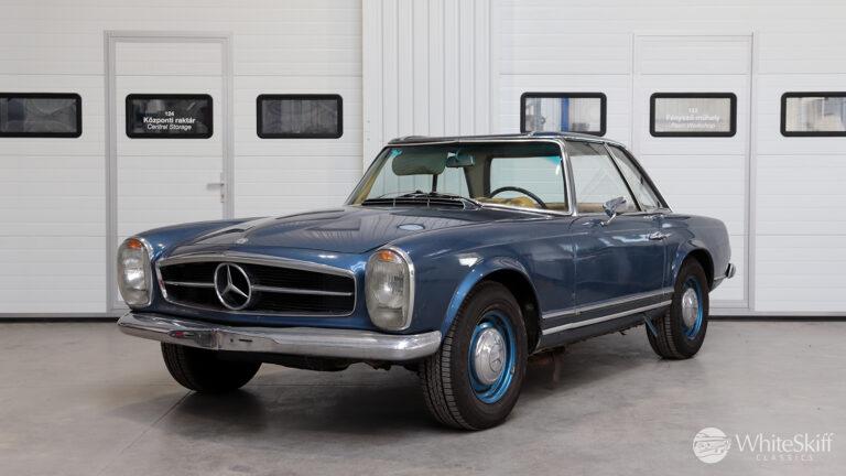 1964 Mercedes 230 SL Blue