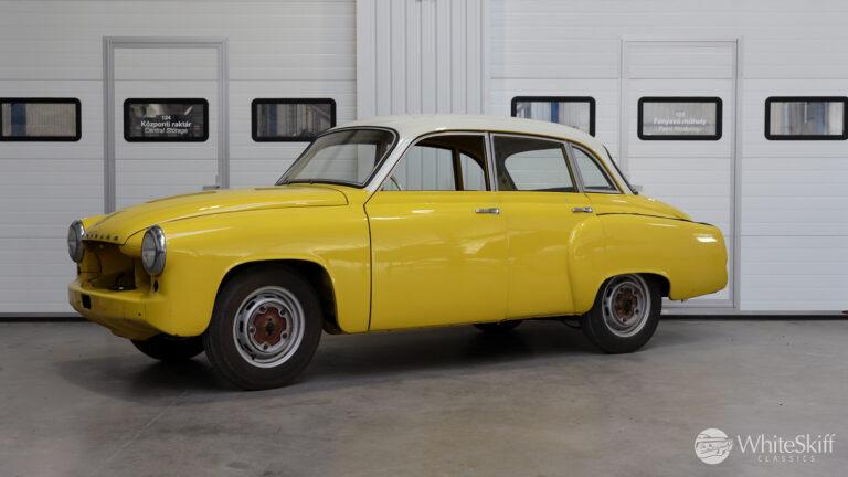 1965 Wartburg 312 HT Champagne Yellow