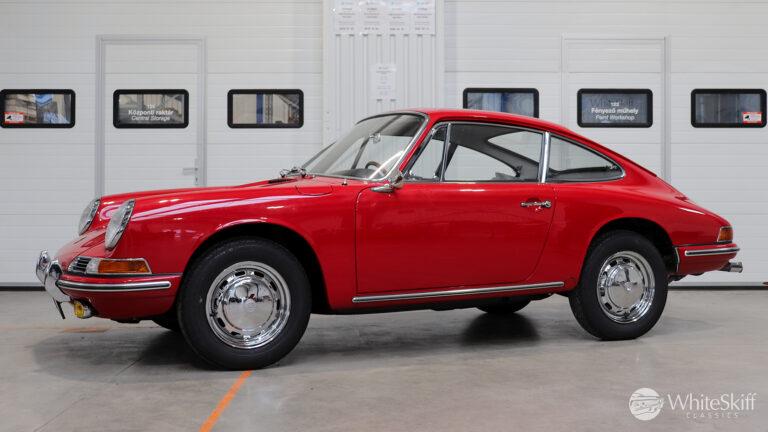 1966 Porsche 911 - Polo Red 66