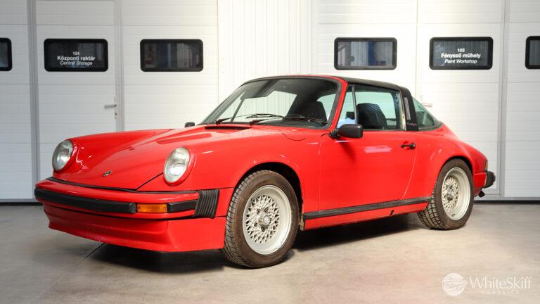 1973 Porsche 911 Targa - Signal Yellow 73 (2)