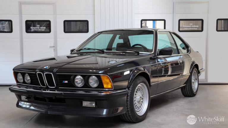 1985 BMW M635 CSI - Diamond Black 85