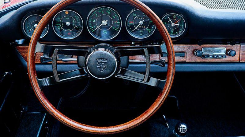 1966 Porsche 911 Coupé pólópiros kormánykerék