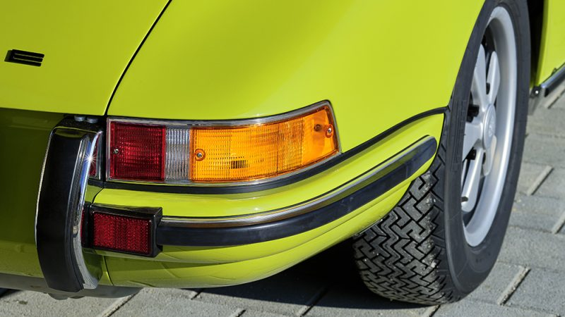 1972 Porsche 911T Coupé Lime Green