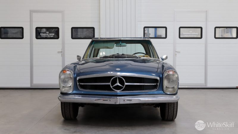1964 Mercedes 230 SL Blue (1)