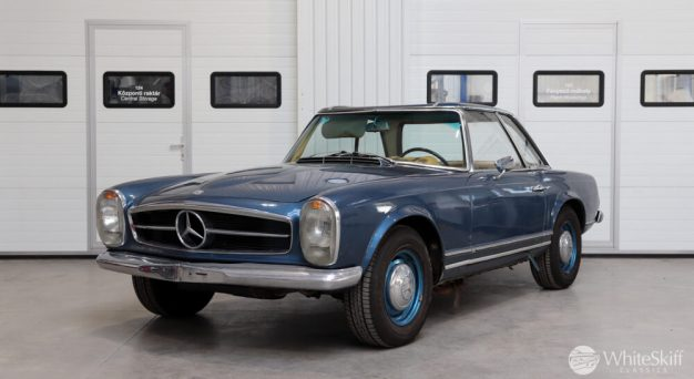 1964 Mercedes 230 SL Blue (2)