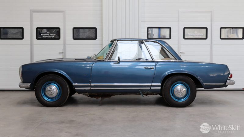 1964 Mercedes 230 SL Blue (3)