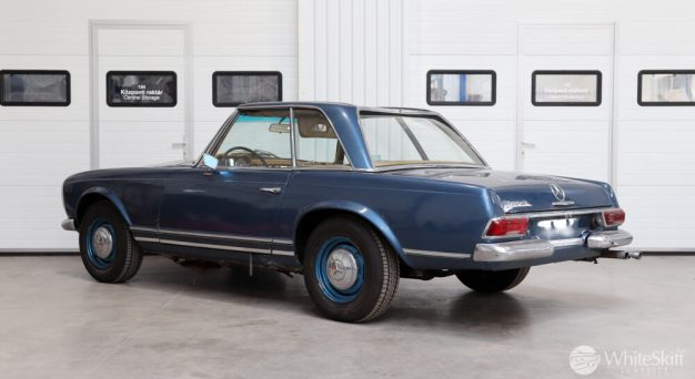 1964 Mercedes 230 SL Blue (4)