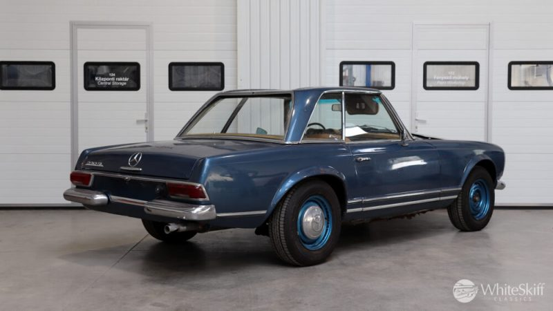 1964 Mercedes 230 SL Blue (6)