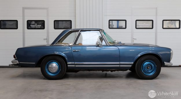 1964 Mercedes 230 SL Blue (7)