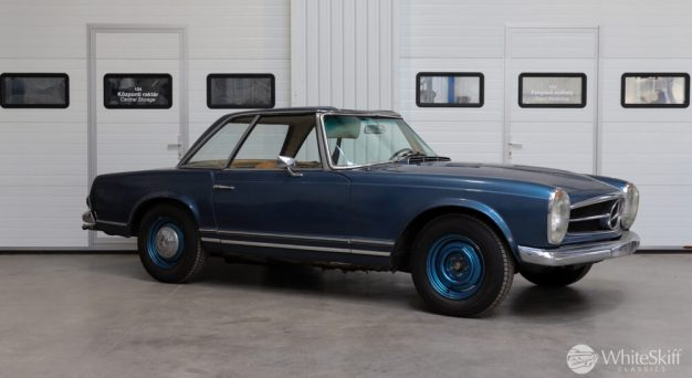 1964 Mercedes 230 SL Blue (8)