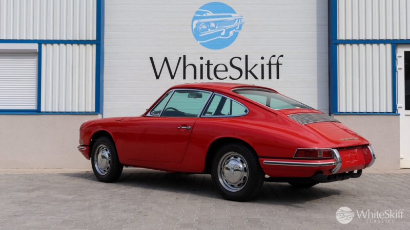 1965 Porsche 911 - Signal Red 65 (4)