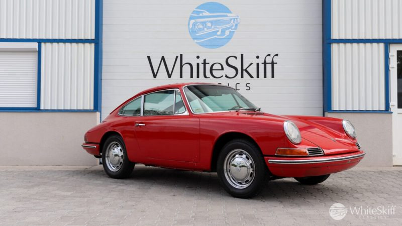 1965 Porsche 911 - Signal Red 65 (8)