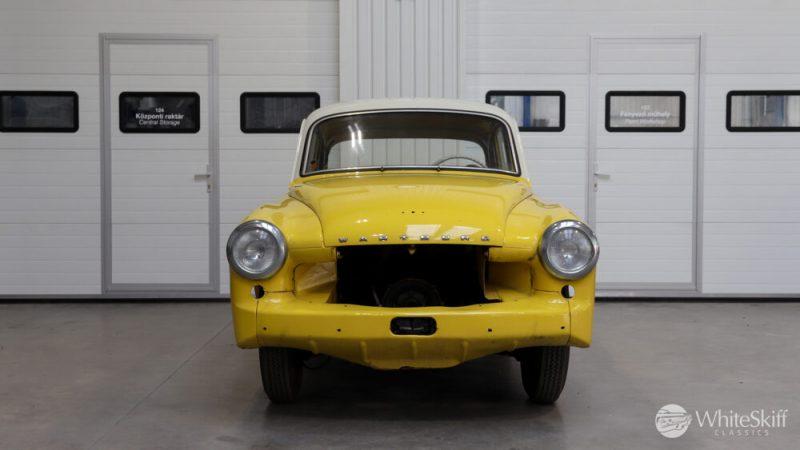 1965 Wartburg 312 HT Champagne Yellow (1)