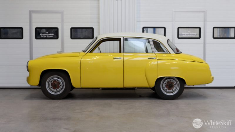 1965 Wartburg 312 HT Champagne Yellow (3)