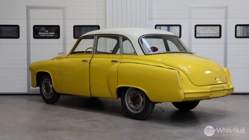 1965 Wartburg 312 HT Champagne Yellow (4)