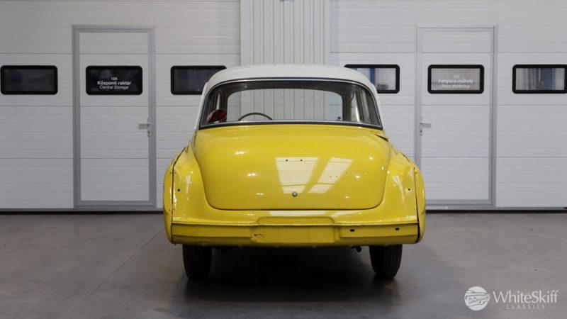 1965 Wartburg 312 HT Champagne Yellow (5)