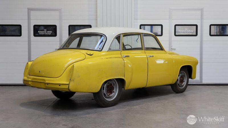 1965 Wartburg 312 HT Champagne Yellow (6)