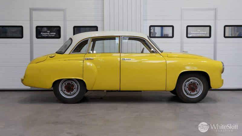 1965 Wartburg 312 HT Champagne Yellow (7)