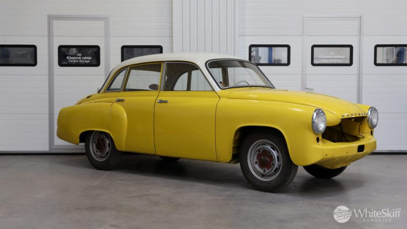 1965 Wartburg 312 HT Champagne Yellow (8)