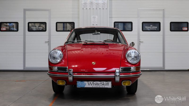1966 Porsche 911 Coupé pólópiros előlről