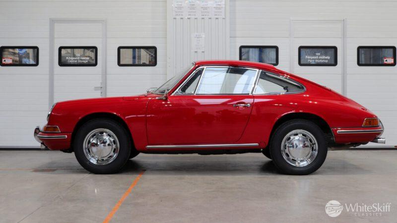1966 Porsche 911 Coupé pólópiros bal oldalról