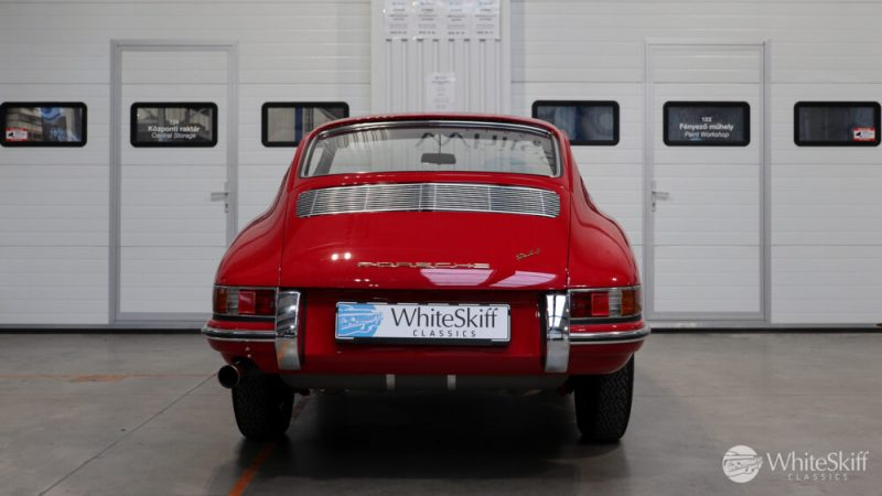 1966 Porsche 911 Coupé pólópiros hátulról