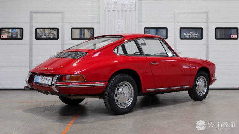 1966 Porsche 911 Coupé pólópiros jobb hátsó oldal