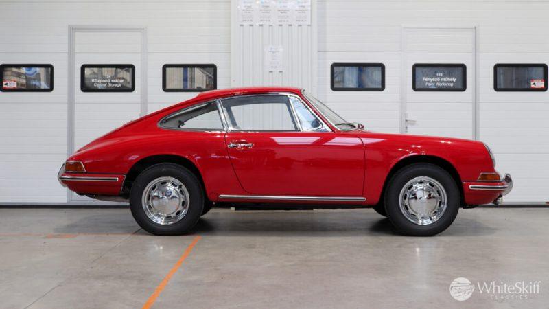 1966 Porsche 911 Coupé pólópiros jobb oldalról