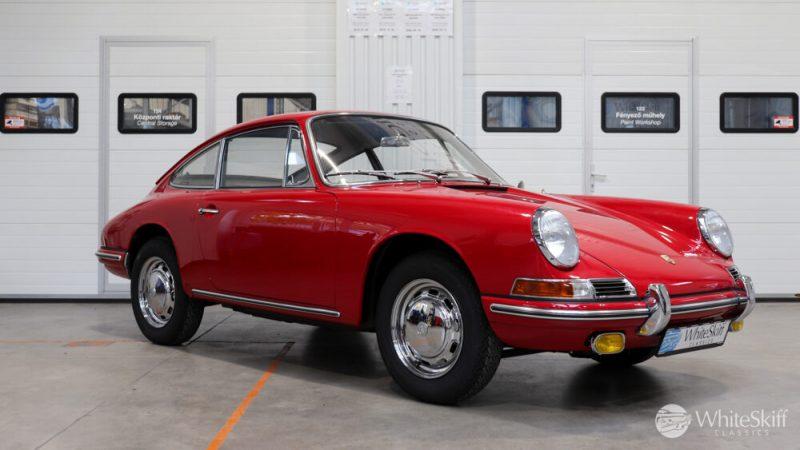 1966 Porsche 911 Coupé pólópiros jobb előlről