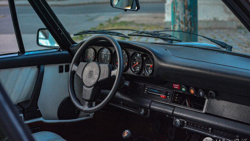 1975 Porsche 911 Turbo Coupé Copper Brown beltér