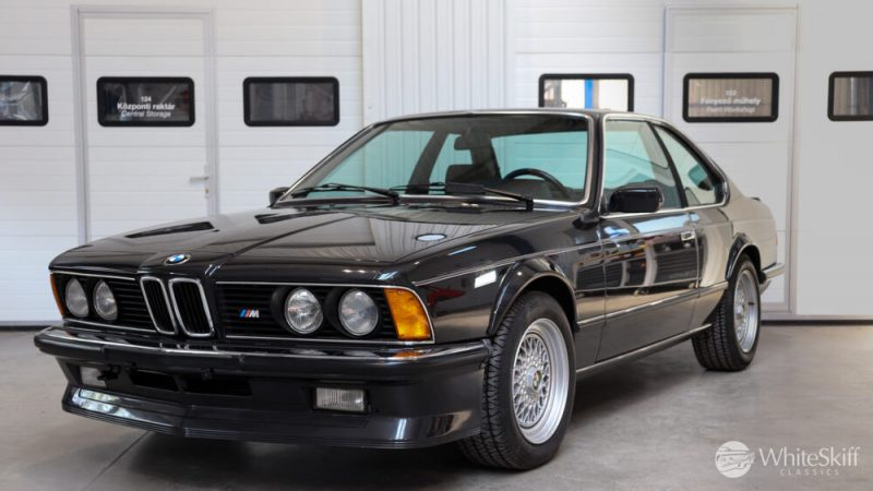 1985 BMW M635 CSI - Diamond Black 85 (2)