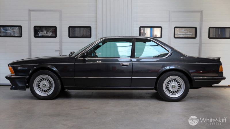 1985 BMW M635 CSI - Diamond Black 85 (3)