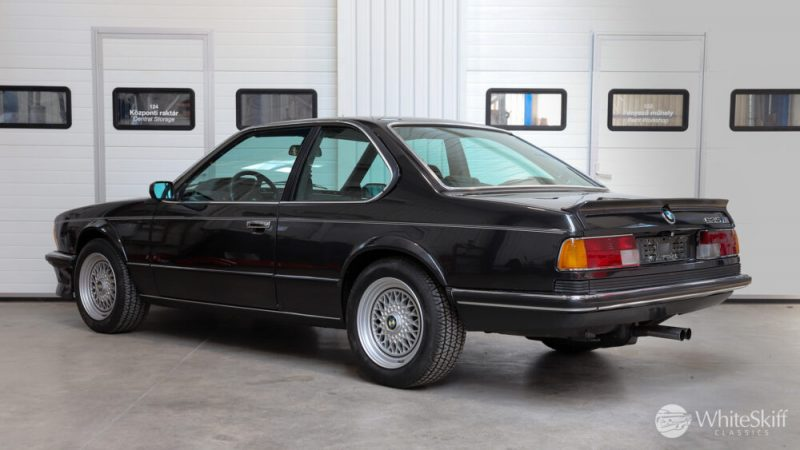 1985 BMW M635 CSI - Diamond Black 85 (4)