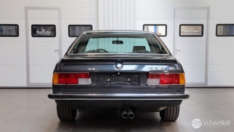 1985 BMW M635 CSI - Diamond Black 85 (5)