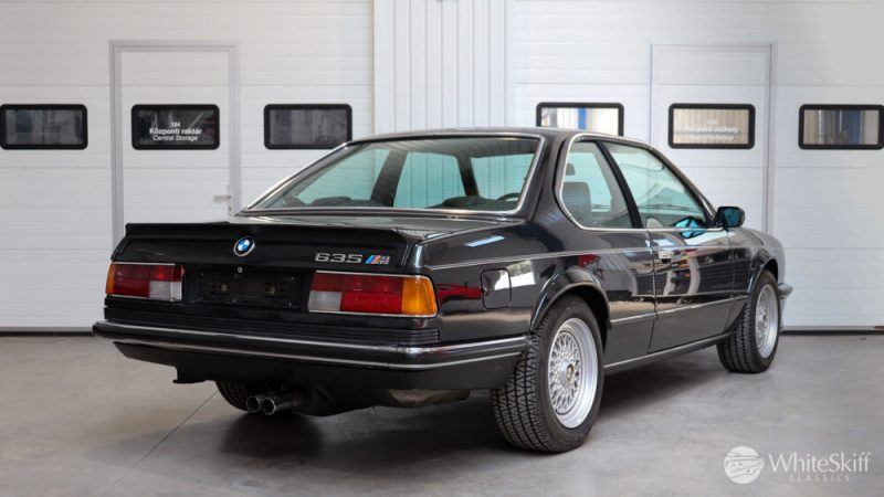 1985 BMW M635 CSI - Diamond Black 85 (6)