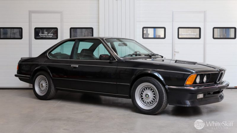 1985 BMW M635 CSI - Diamond Black 85 (8)