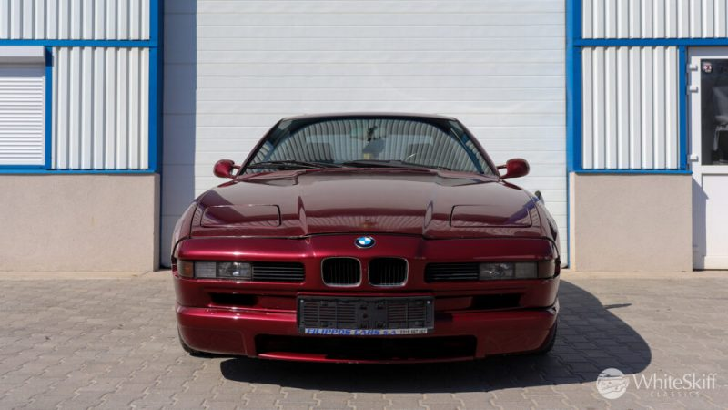 1993 BMW 850 CSI - Calypso Red 93 (1)