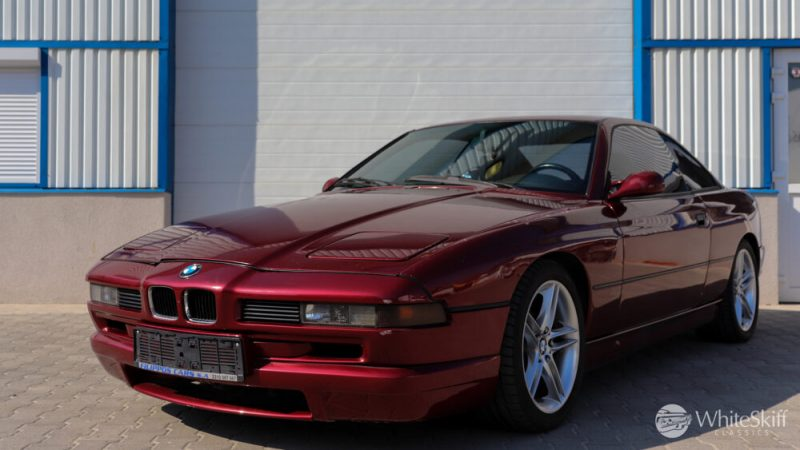 1993 BMW 850 CSI - Calypso Red 93 (2)