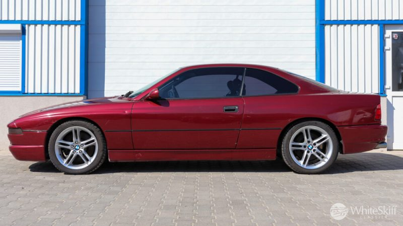 1993 BMW 850 CSI - Calypso Red 93 (3)