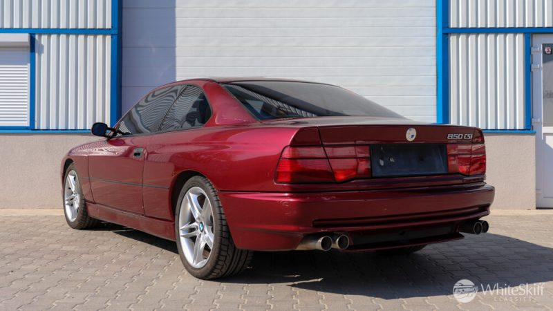 1993 BMW 850 CSI - Calypso Red 93 (4)