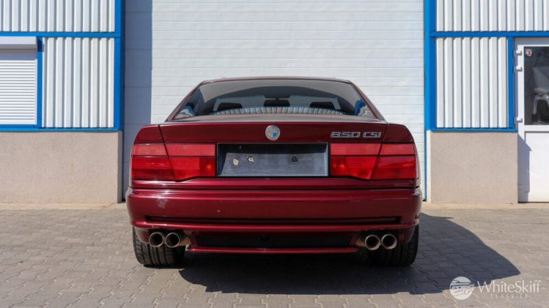 1993 BMW 850 CSI - Calypso Red 93 (5)