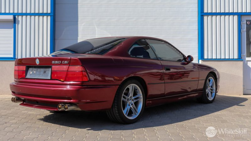 1993 BMW 850 CSI - Calypso Red 93 (6)