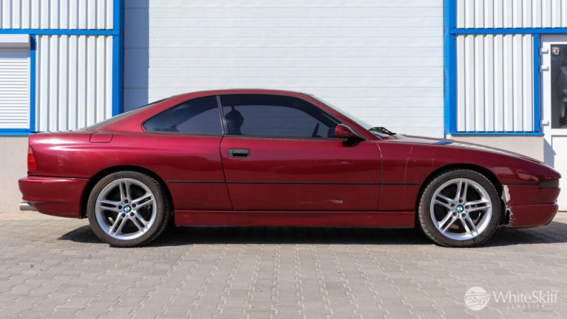 1993 BMW 850 CSI - Calypso Red 93 (7)