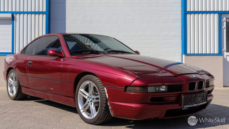 1993 BMW 850 CSI - Calypso Red 93 (8)