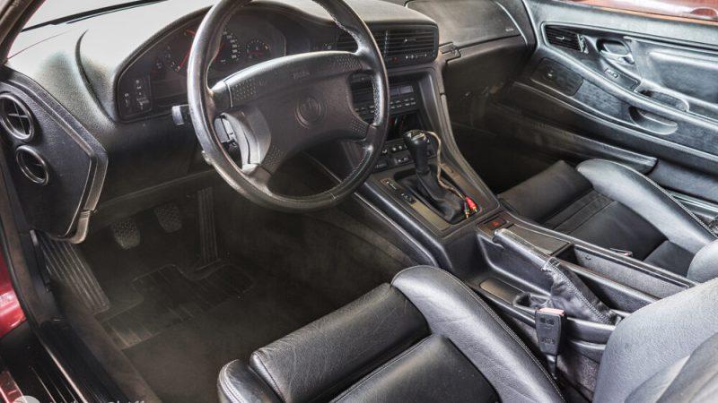 2120006 1993 BMW 850 CSI beltér