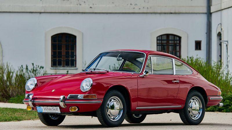 1966 Porsche 911 Coupé pólópiros bal előlről