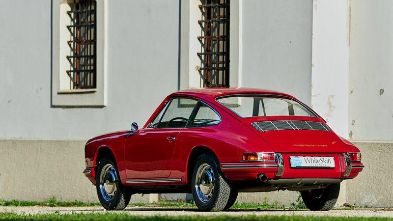 1966 Porsche 911 Coupé pólópiros bal hátulról