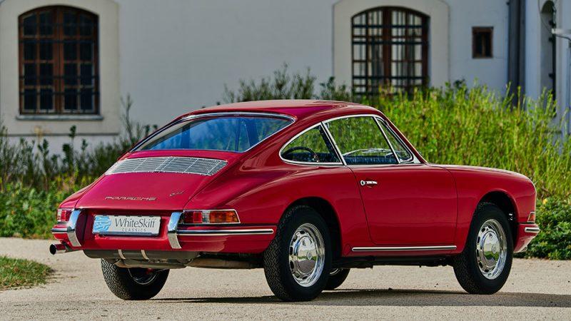 1966 Porsche 911 Coupé pólópiros jobb hátulról